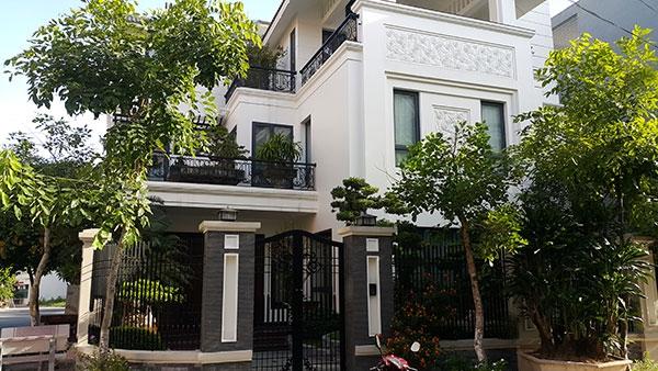 Biệt thự tại khu đô thị Trần Lãm - Thái Bình