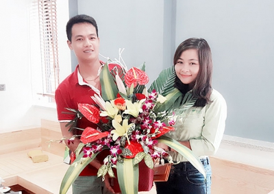 Căn hộ nhà anh Hiếu Thanh Trì, Hà Nội